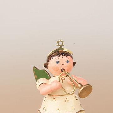 Engel mit Trompete 6,5 cm